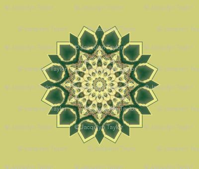Kaleidescope 0310 k1 r1 turquoise k1 pale yellow