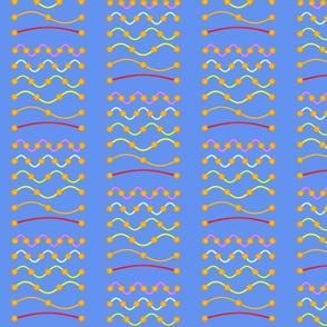 WAVE harmonics thick blue