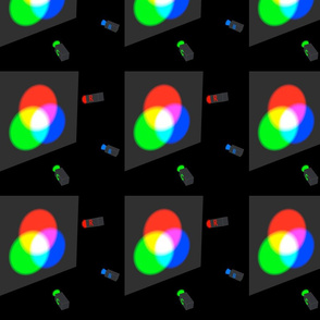 colour mixing of light