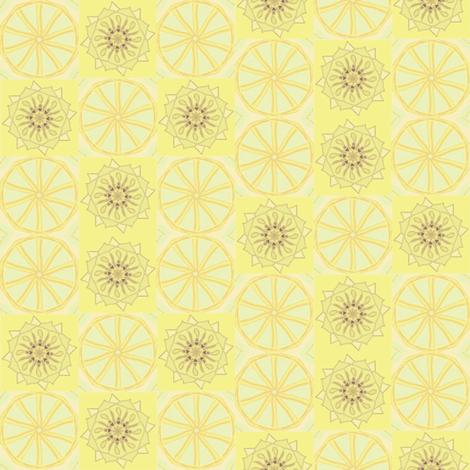 Lemonade fabric by ravynscache on Spoonflower - custom fabric