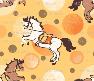 horses and bubbles