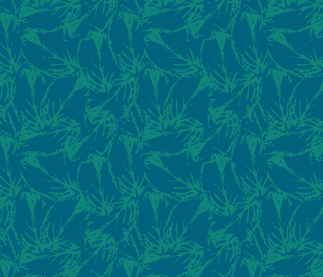 leaf_pattern7-01 fabric by sofiedesigns on Spoonflower - custom fabric
