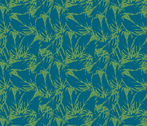 leaf_pattern8-01 fabric by sofiedesigns on Spoonflower - custom fabric