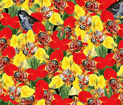 Lillybit fabric by glanoramay on Spoonflower - custom fabric