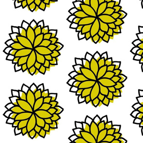 Petal Burst in Yellow