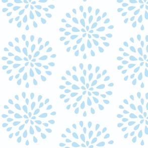 Bursting Blossom Sea Blue