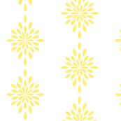 Star Burst in Yellow