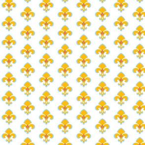 Fleur de Lis in Mango