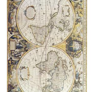 Antique World Map II
