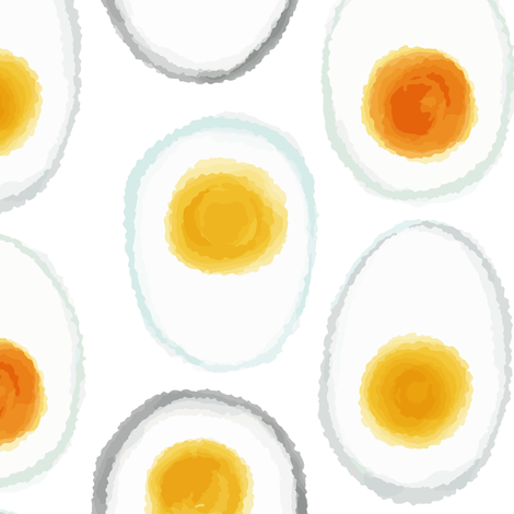 Eggsperiment fabric by marmalademoon on Spoonflower - custom fabric