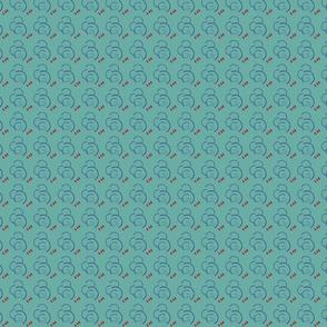 60s Flufftone Pattern