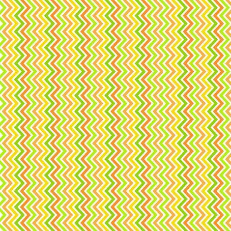 Citrus Zig Zag fabric by holladaydesigns on Spoonflower - custom fabric