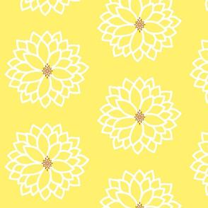 Bursting Bloom in Yellow