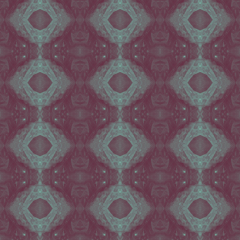 Purple Cell fabric by gimlet on Spoonflower - custom fabric