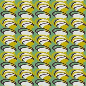 Chartreuse Spirals