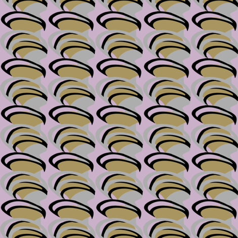 Purple Spiral fabric by gimlet on Spoonflower - custom fabric