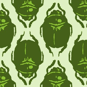 Scarab Allover Acid Green