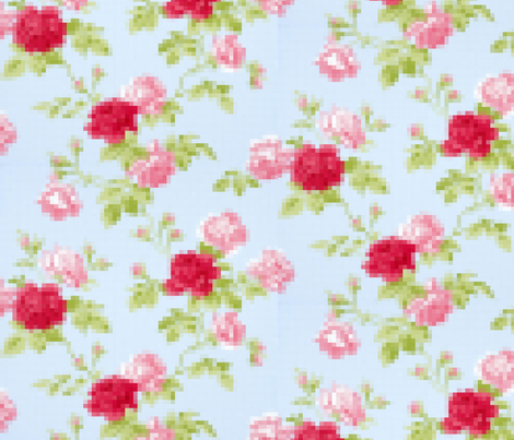 8_bit fabric by ariellelouise on Spoonflower - custom fabric
