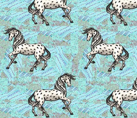 Fantasy horse fabric by lucybaribeau on Spoonflower - custom fabric