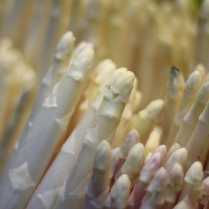white asparagus crystals