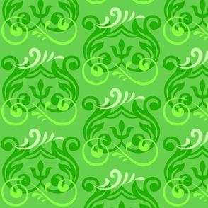 Fleurisse in Green
