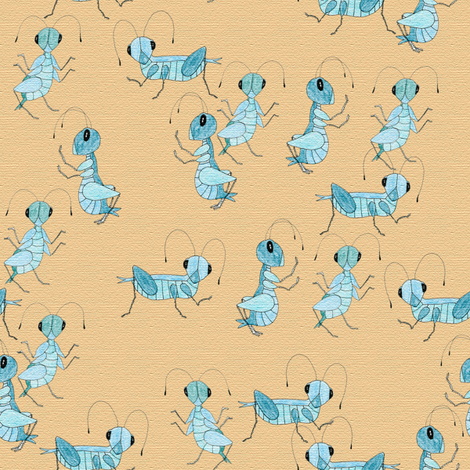 Cricket_Confusion fabric by suziwollman on Spoonflower - custom fabric