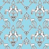 Rrrrrrdamask_horse_whole_pattern_rev2_saddle_blue_shop_thumb