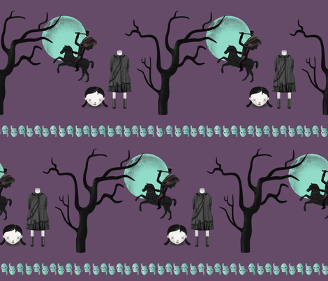 Headless Horseman fabric by carrie-anne's_designs on Spoonflower - custom fabric