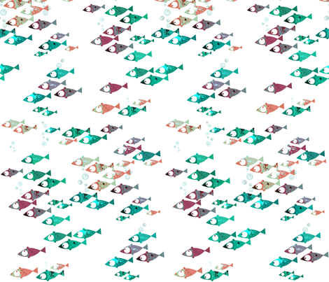 Something fishy... fabric by mulberry_tree on Spoonflower - custom fabric