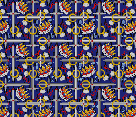 lord of the things fabric by glimmericks on Spoonflower - custom fabric