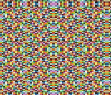 pixel fabric by honeychildink on Spoonflower - custom fabric