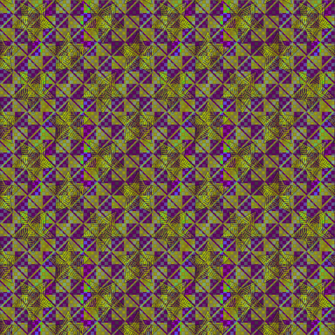 opal contrast green and violet2 fabric by glimmericks on Spoonflower - custom fabric