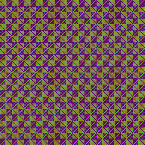 opal contrast green and violets fabric by glimmericks on Spoonflower - custom fabric