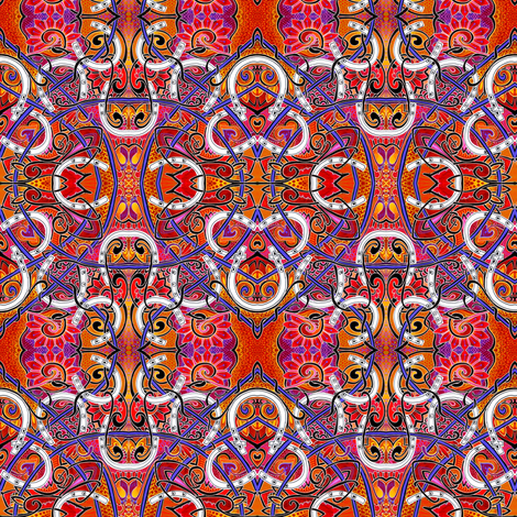 H is for Horseshoes fabric by edsel2084 on Spoonflower - custom fabric