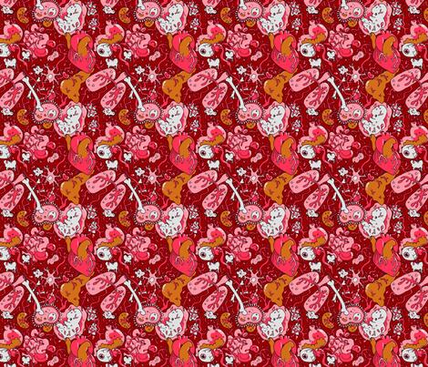 Guts Print fabric by chriscalmdown on Spoonflower - custom fabric