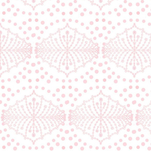 Polka Dot Dreams in Petal Pink