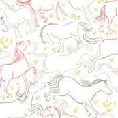 Horse_pattern3_col_lines_coral_shop_thumb