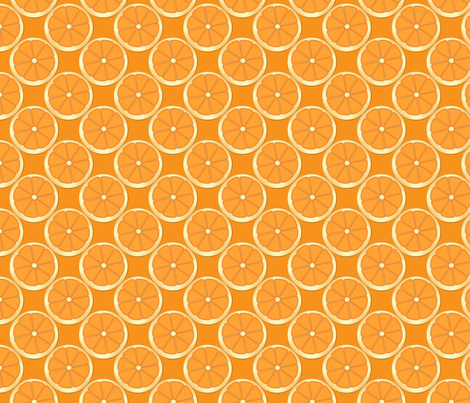 Orange We Gonna Have Fun fabric by krwdesigns on Spoonflower - custom fabric
