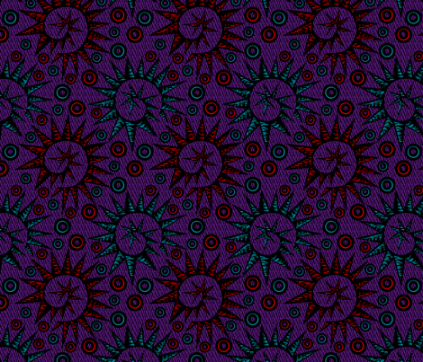 Spiraling Out of Control - synergy0005 fabric by glimmericks on Spoonflower - custom fabric