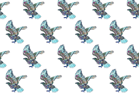 EAGLE2 fabric by the_old_bird on Spoonflower - custom fabric