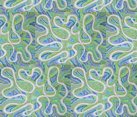 winding road through the mountains fabric by yellowee on Spoonflower - custom fabric