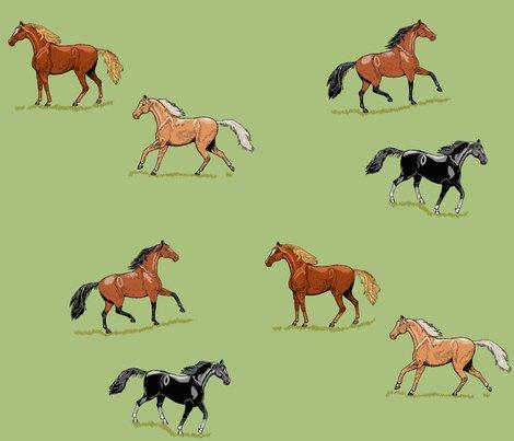 Rrhorses_ink_mint___grass_double_g_shop_preview
