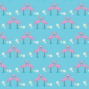 flamingo blue small