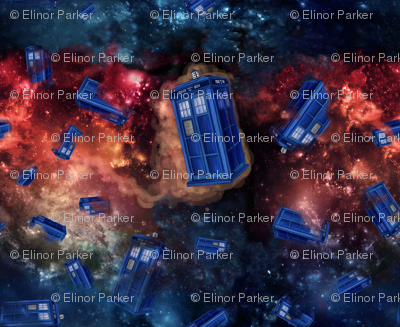 Police Boxes in Space