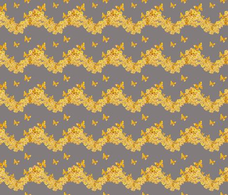 Daisy Garland fabric by karenharveycox on Spoonflower - custom fabric