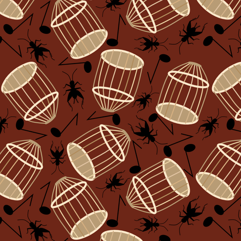 Escaped fabric by loopy_canadian on Spoonflower - custom fabric