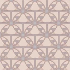 Beige Deco Circles Style 2 © Gingezel™ 2013