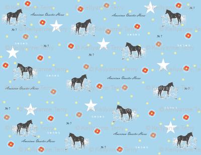 Aqua_Horse_Print