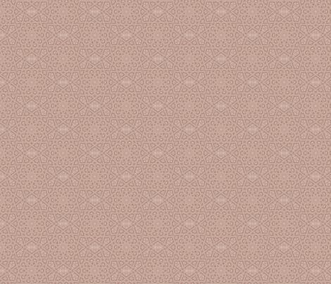 Lacy Beige Geometric © Gingezel™ 2013 fabric by gingezel on Spoonflower - custom fabric