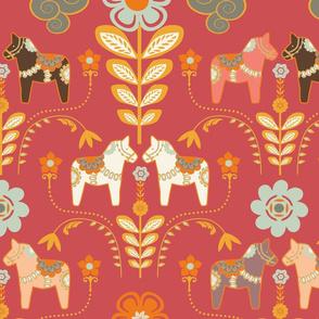 dala_horse_paste_multico rouge_L